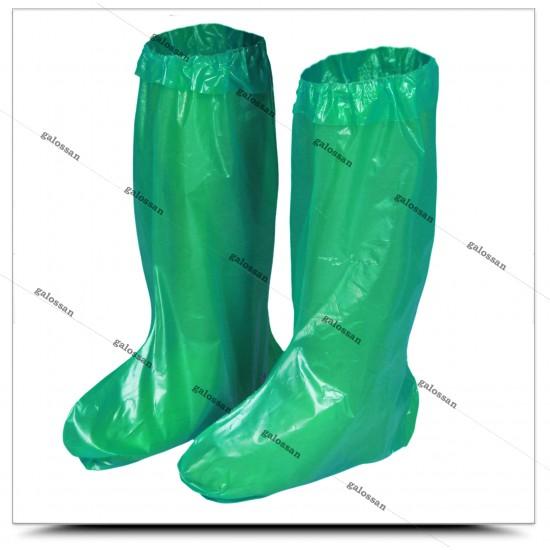 Yeşil Çizme Galoş 24 Adet